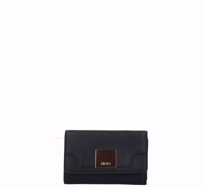 Liu Jo woman wallet with flap Interessante black