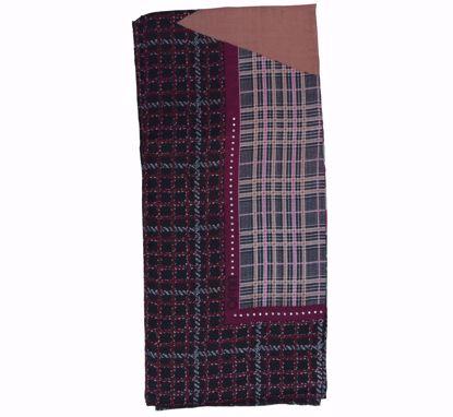 Liu Jo foulard Maxi Logo 120x120 opale pink