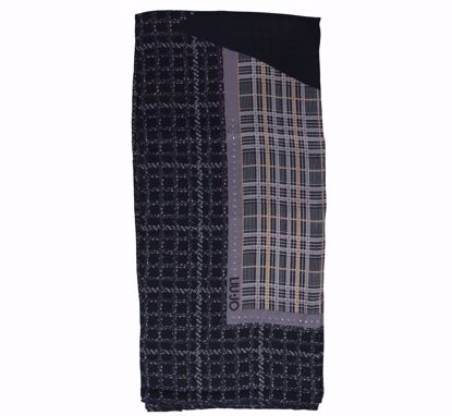 Liu Jo foulard Maxi Logo 120x120 black