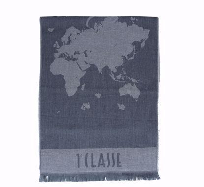 Alviero Martini scarf 40x180 Geo Pieno natural cotton