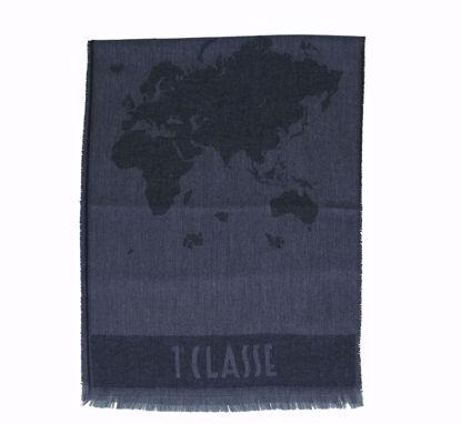 Alviero Martini scarf 40x180 Geo Pieno lead grey