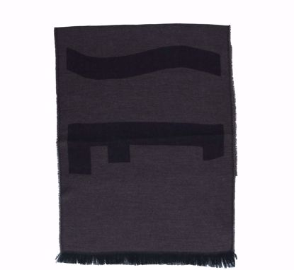 Alviero Martini scarf 40x180 Logo Grande cinnamon