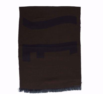 Alviero Martini scarf 40x180 Logo Grande dark brown