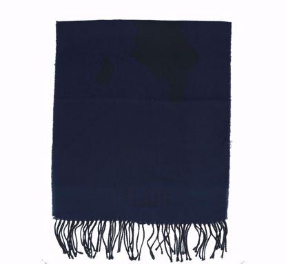 Alviero Martini scarf 38x180 Geo Pieno dark blue