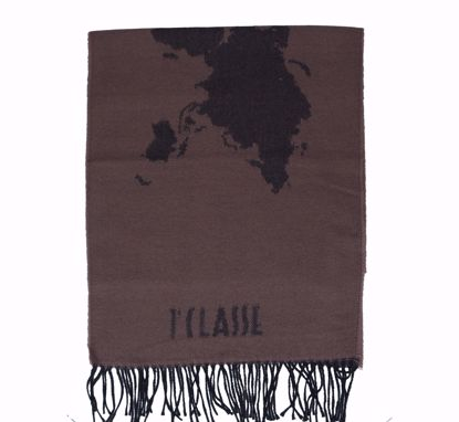 Alviero Martini scarf 38x180 Geo Pieno taupe