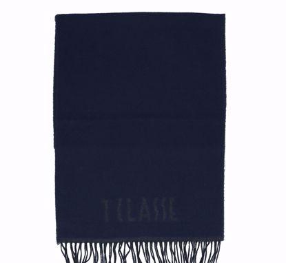 Alviero Martini scarf 38x180 Logo Piccolo dark blue