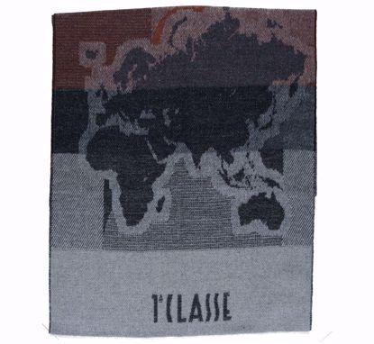 Alviero Martini scarf 50x180 Geo Pieno natural cotton