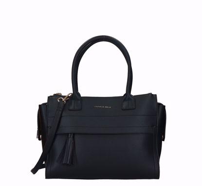 Tosca Blu shopping bag Maga Magò black