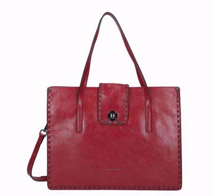 Tosca Blu shopping bag Muschio red