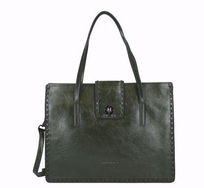 Tosca Blu shopping bag Muschio green