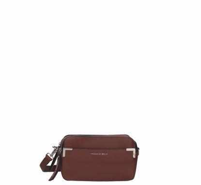 Tosca Blu crossbody bag S Schiaccianoci brown