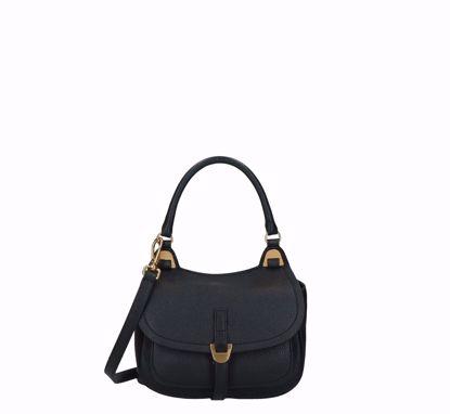 Coccinelle bag Fauve black