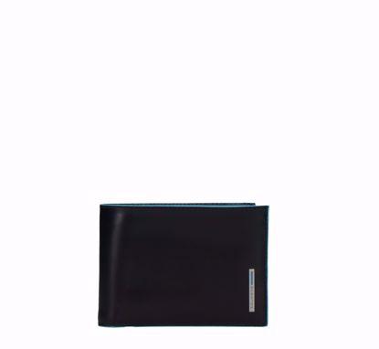 Immagine di Portafoglio uomo con portamonete Nero