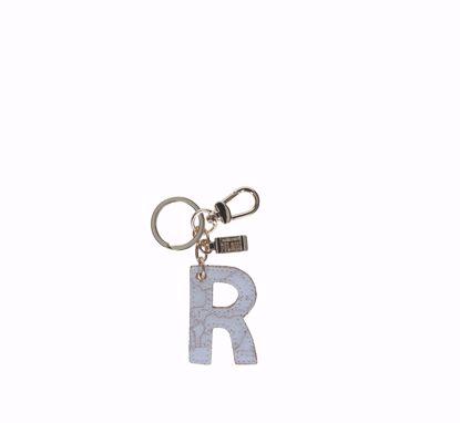 Alviero Martini keys holder letter R Geo White