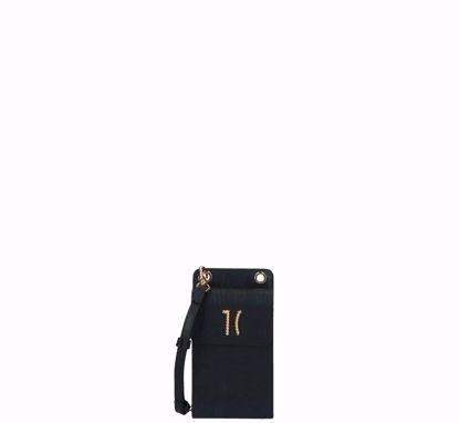 Alviero Martini phone holder Chic Monogram black