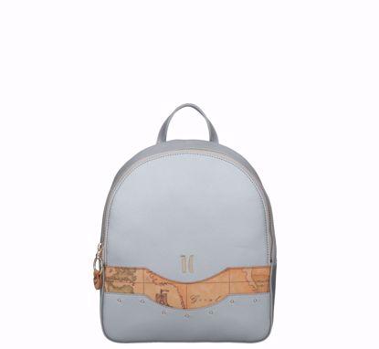 Alviero Martini backpack Precious City silver