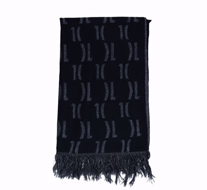 Alviero Martini scarf 56x190 Lurex Logo 1C black