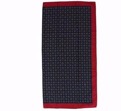 Pollini foulard 68x68 Heritage black red