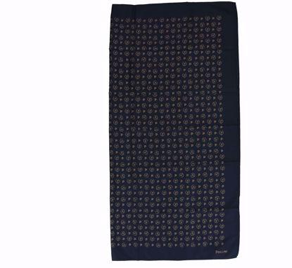Pollini foulard 68x68 Heritage black